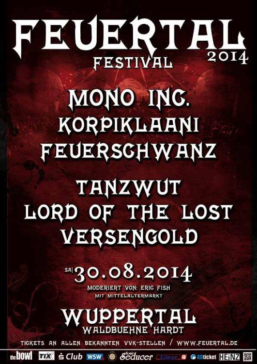 11. Feuertal Festival - Termin und Line-Up 2014