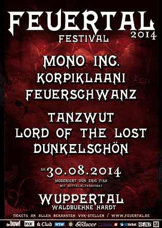 11. Feuertal Festival - Line Up Änderung