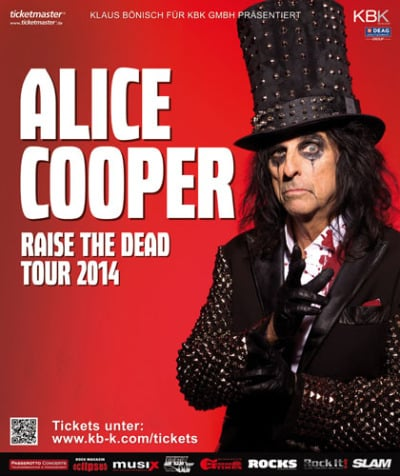 """Alice Cooper verlängert seine """"Raise The Dead"""" Tour"""