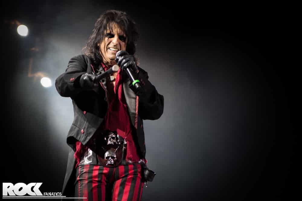 Alice Cooper Raise The Dead Tour Songs