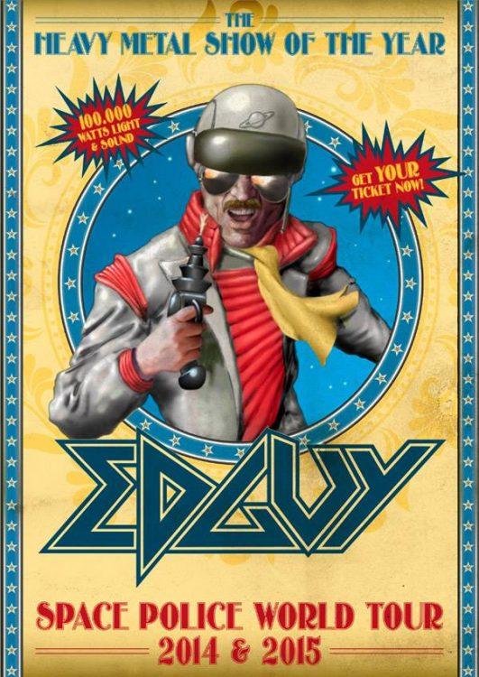 Edguy - Space Police World Tour 2014