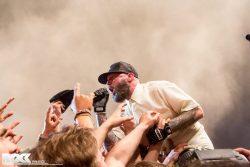 Die US-amerikanische Nu Metal Band Limp Bizkit live beim Nova Rock 2014 (Foto: Steffie Wunderl)