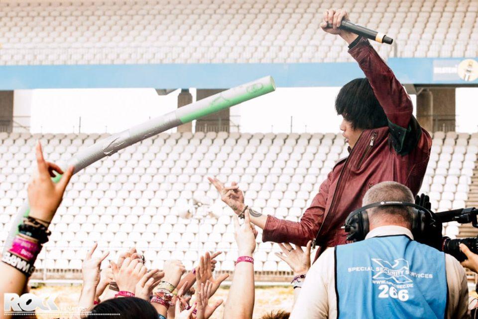 Rock am Ring 2014 - Crossfaith - 06.06.2014
