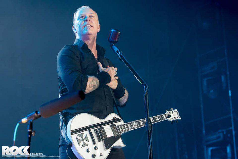 Metallica live bei Rock am Ring 2014 (Credit: Steffie Wunderl)