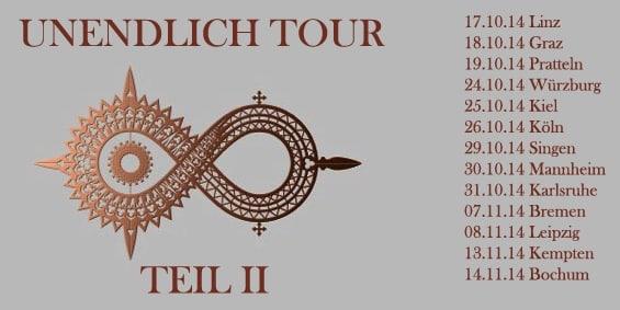Schandmaul - Unendlich Tour 2014 II