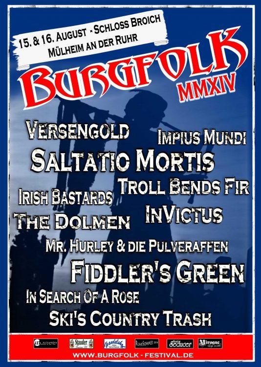 Burgfolk Festival - 15./16. August 2014