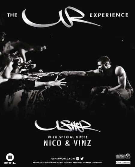 The UR Experience - Usher kommt 2015 auf Europatournee