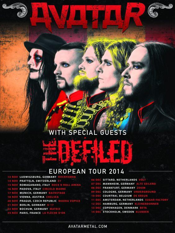 Avatar - Hail The Apocalypse European Tour