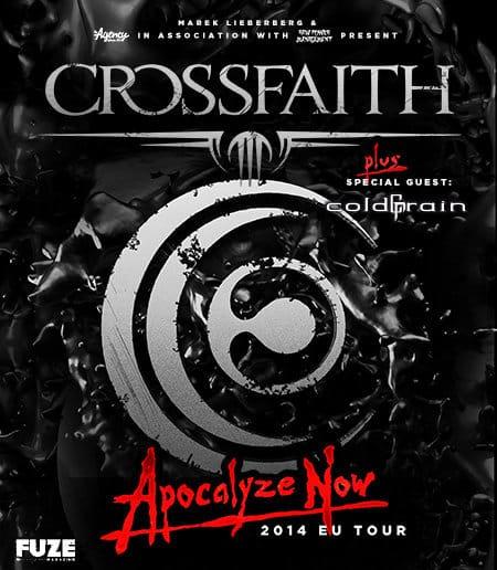 Crossfaith Apocalyze Now Tour 2014