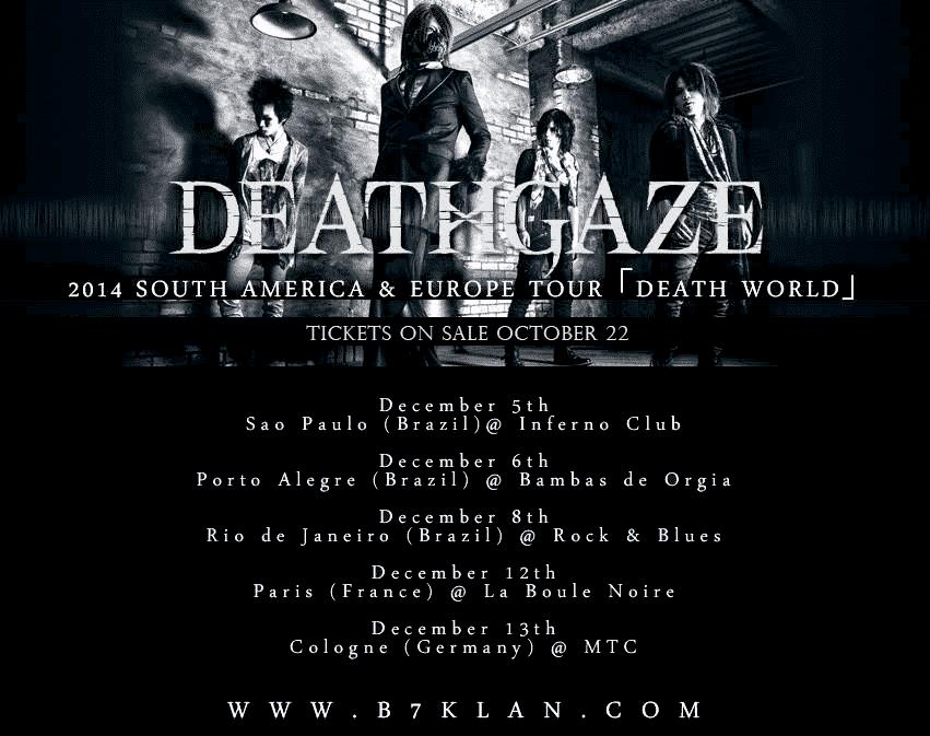 Deathgaze – Death World 2014