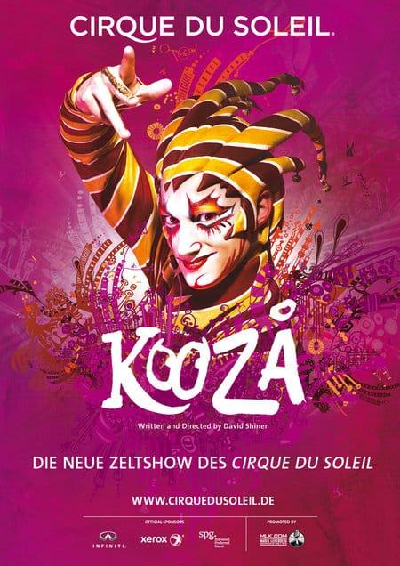 KOOZA - Die neue Zeltshow des Cirque du Soleil