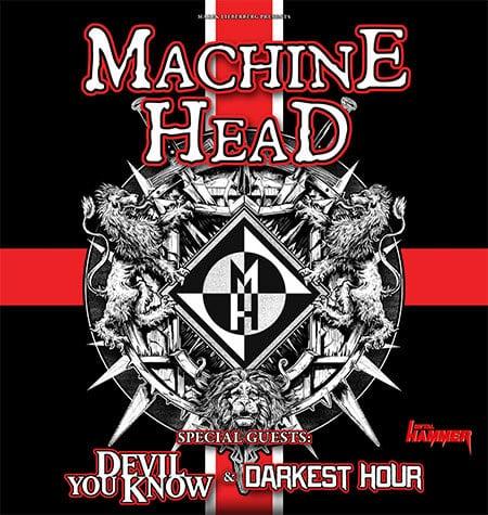 Machine Head live in Deutschland!
