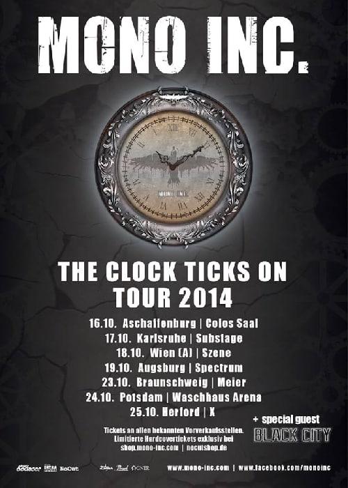 Mono Inc - The Clock Ticks On Tour 2014
