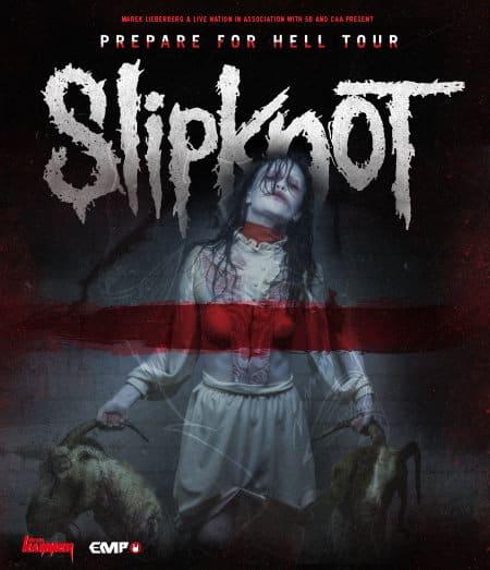 Slipknot - Prepare For Hell Tour 2015