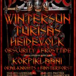 Paganfest Tour 2015 - Bands und Termine