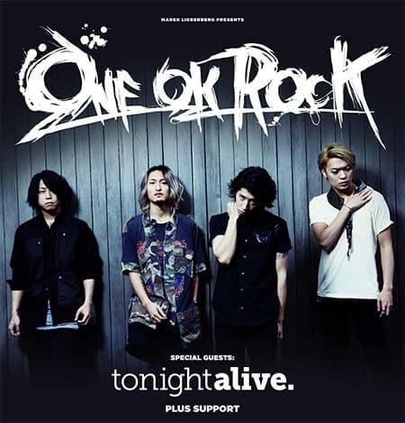One Ok Rock – Europatour 2014