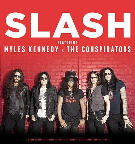Slash - World On Fire-Tour 2014
