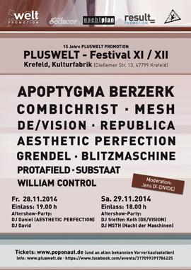 Pluswelt Festival - KuFa Krefeld - 28.-29.11.2014
