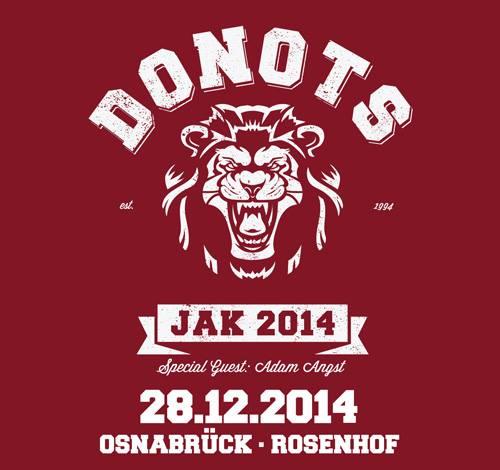 Donots Jahresabschlußkonzert - 28.12.2014 - Rosenhof, Osnabrück
