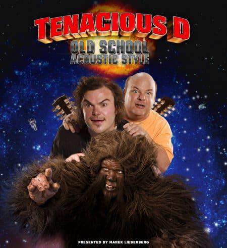 Tenacious D kommen auf Old School Acoustic Style Tour