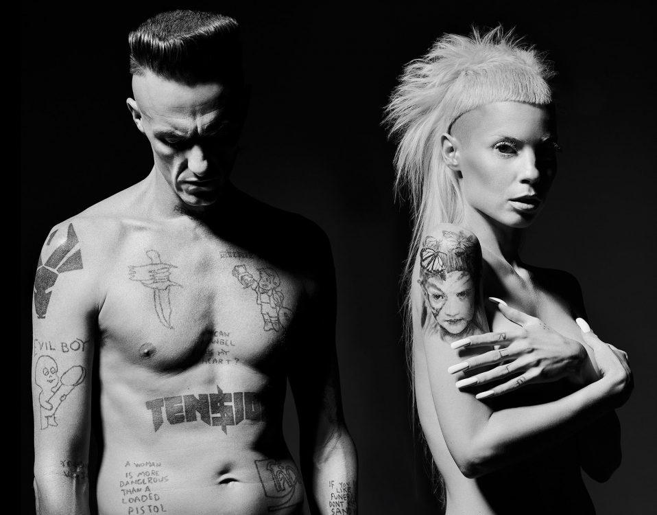 """Die Antwoord auf """"We fink they're freeky"""" Tour 2015"""