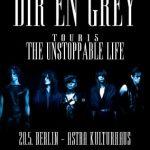 Dir En Grey - Im Mai zurück in Deutschland