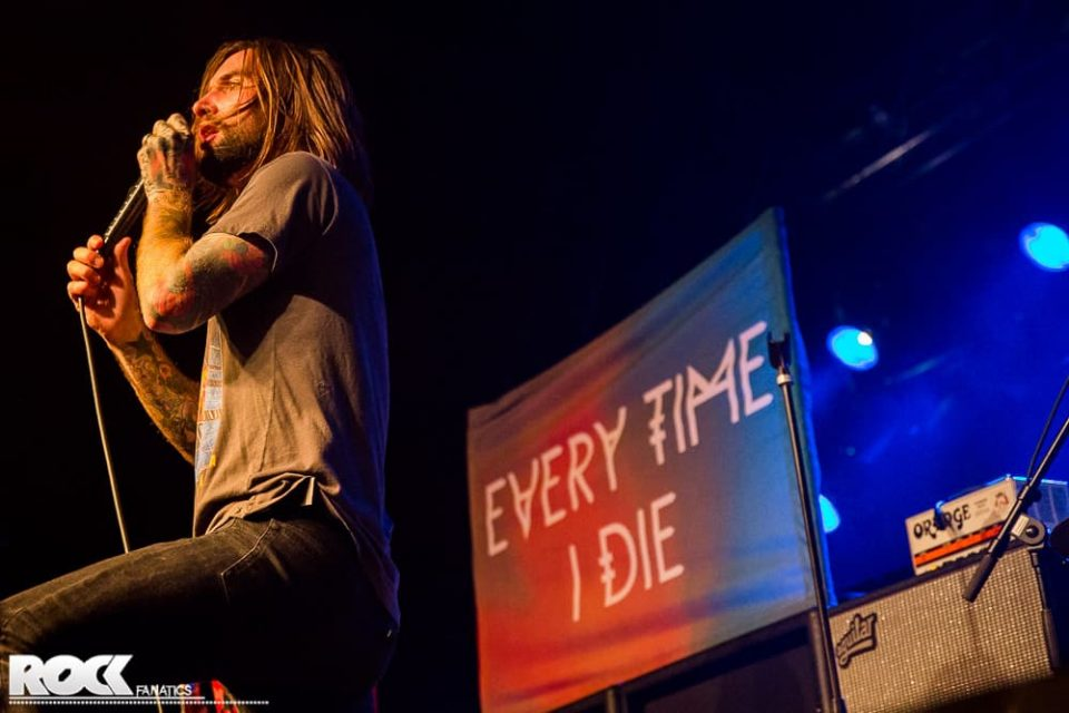 Every Time I Die - Support Architects - 26.02.2015 - Live Music Hall, Köln