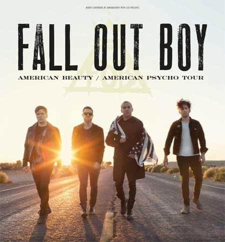 Fall Out Boy - American Beauty / American Psycho Tour im Herbst