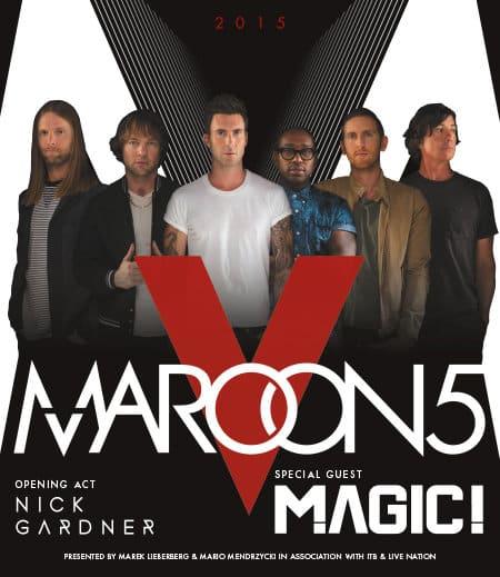 Maroon 5 - V World Tour