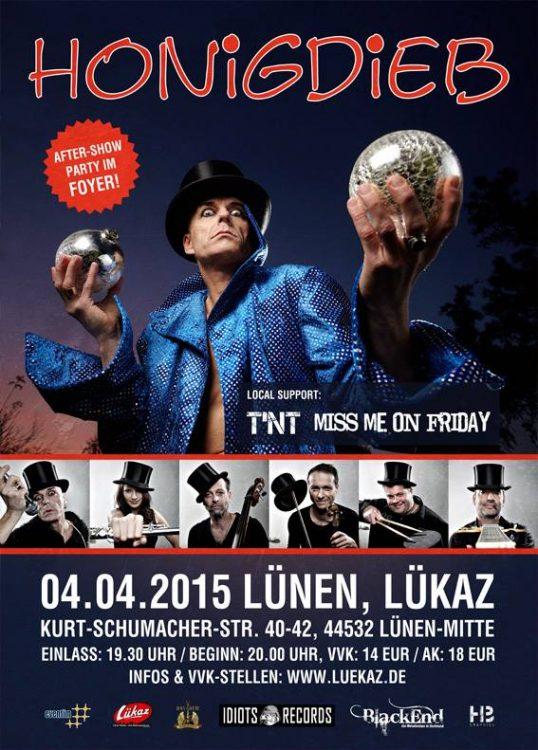 Honigdieb – 04.04.15 – Lükaz, Lünen