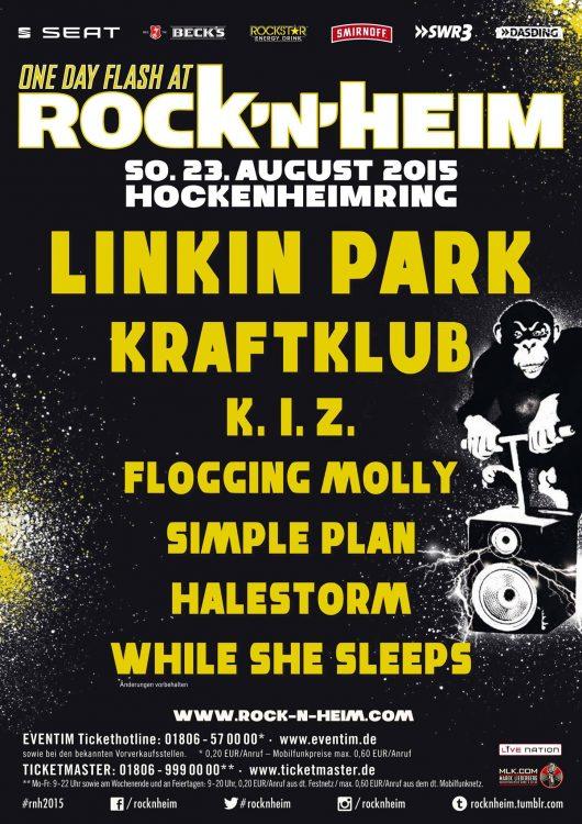 Rock'n'Heim 2015 - Alle Bands und Infos auf einen Blick
