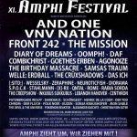 Amphi Festival 2015 - Finales Line-Up und Running Order