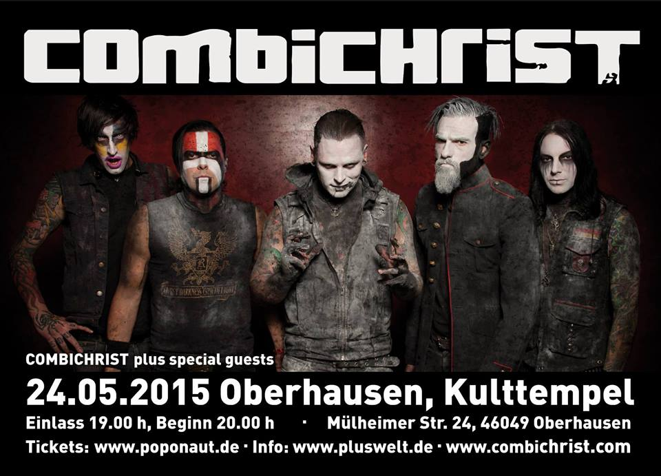 Combichrist - We Love Tour 2015
