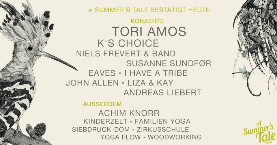 A Summer's Tale - Bandnachschlag