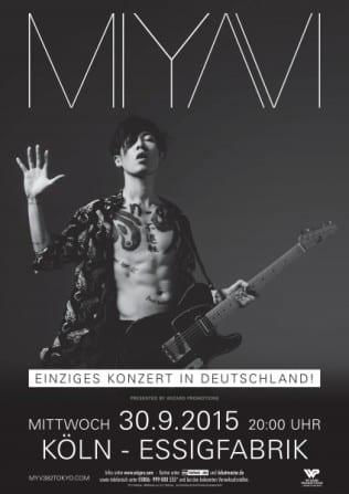 Miyavi - Exklusives Deutschlandkonzert in Köln