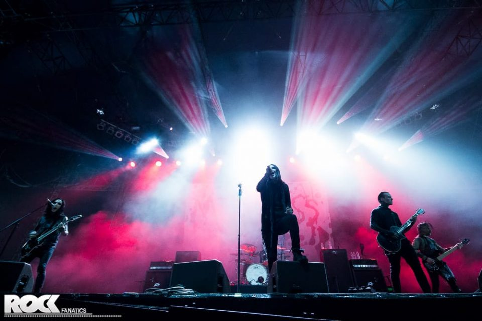 Rock am Ring 2015 - Motionless In White