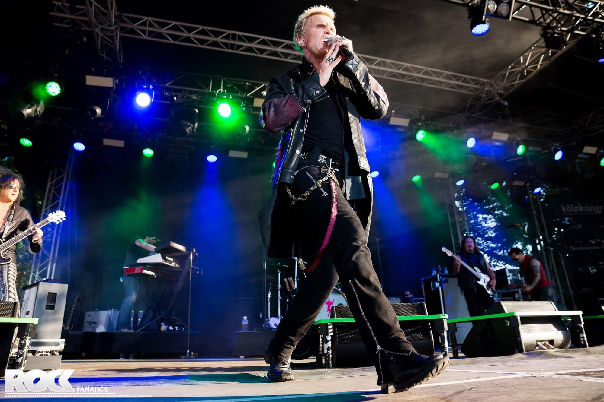 Billy Idol, Tanzbrunnen Köln, 17. Juli