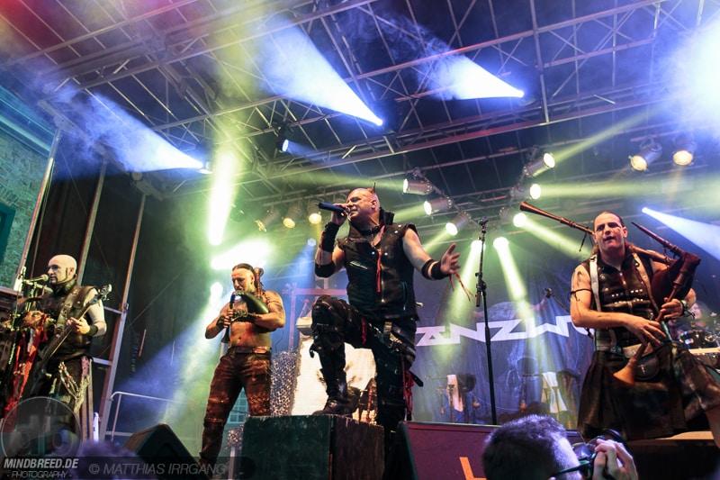 Tanzwut - Burgfolk Festival 2015