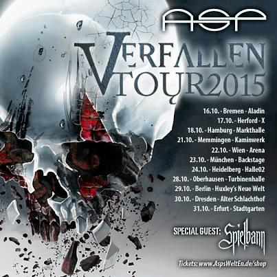 ASP - Verfallen Tour 2015