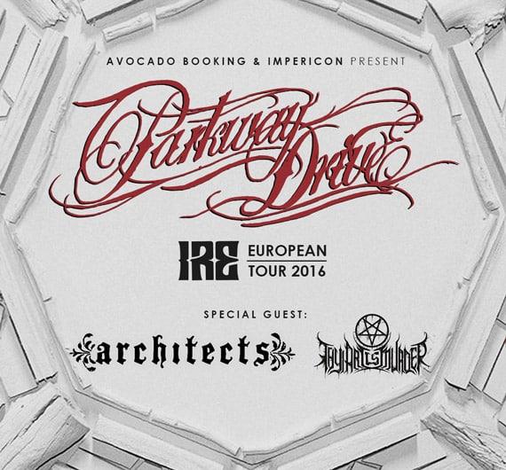 """Parkway Drive kommen auf """"IRE"""" Tour"""