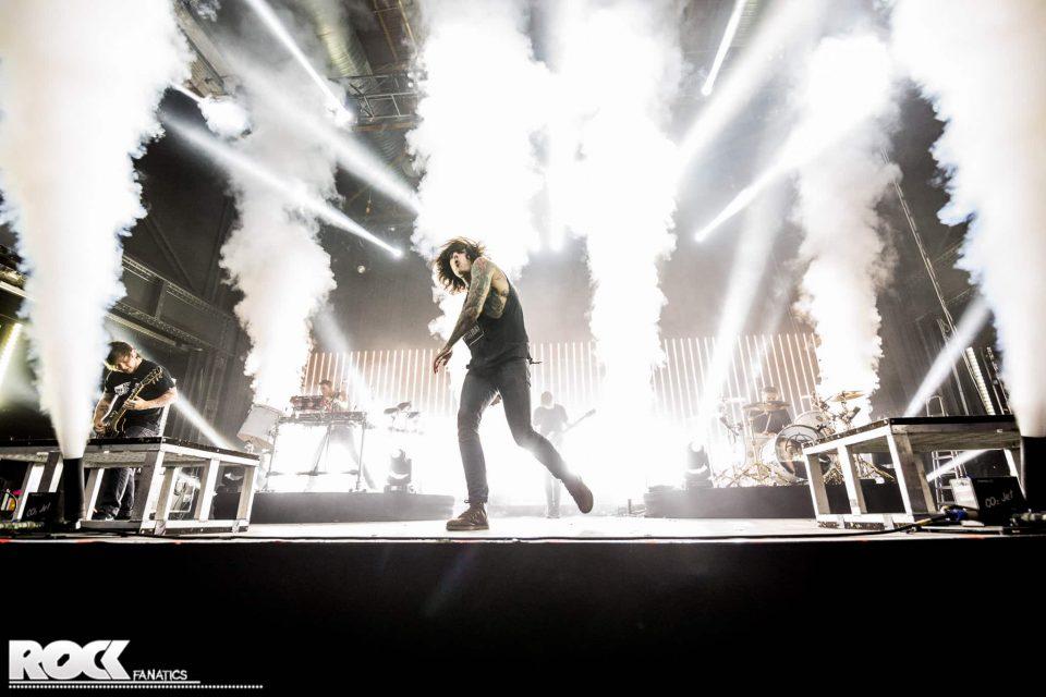 Bring Me The Horizon live im Palladium Köln. Foto: Steffie Wunderl