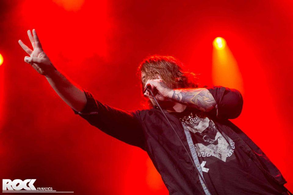 Beartooth - Support Bring Me The Horizon - 08.11.2015 - Palladium, Köln