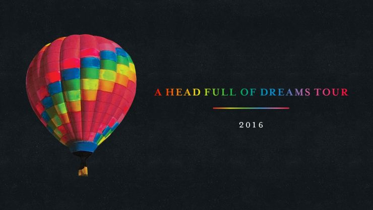 """Coldplay kommen im Sommer auf """"A Head Full of Dreams Tour"""""""