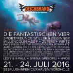 Deichbrand 2016 - Erste Welle