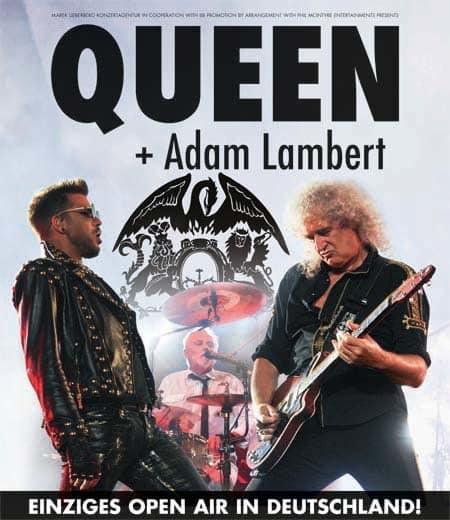 Queen & Adam Lambert - Einziges Deutschland Open Air 2016