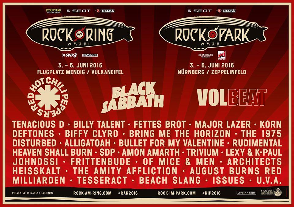Rock am Ring/Rock im Park 2016 - Tenacious D bestätigt!