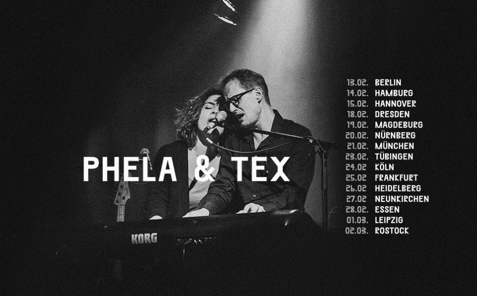 Phela und Tex auf Tour 2016