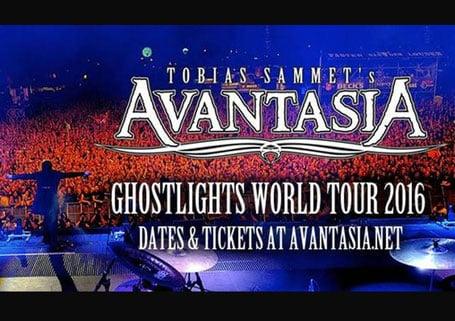 Avantasia - Ghostlights Tour