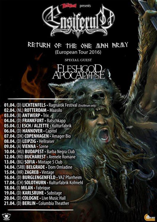 Ensiferum – One Man Army Tour