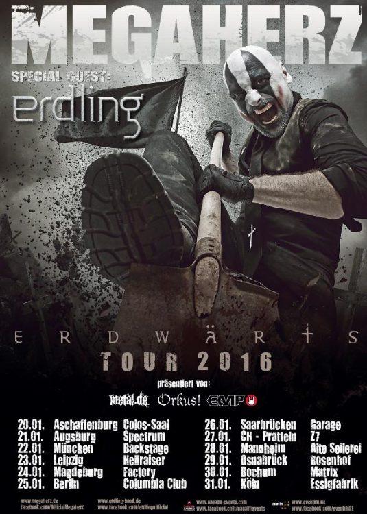 Megaherz - Erdwärts Tour 2016